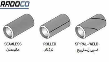 انواع لوله فولادی
