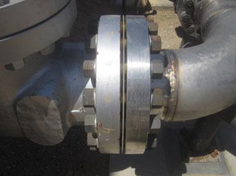نمونه فلنج استفاده شده