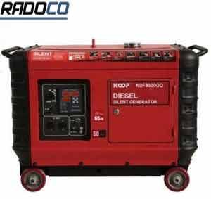فروش موتور برق کوپ 5 کیلووات تک فاز گازوئیلی