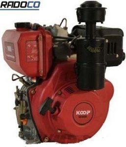 موتور گازوئیلی تک 14 اسب استارتی مدل KD192 FE