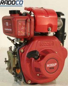 موتور دیزلی کوپ تک 7اسب تک سیلندر گیربکسی