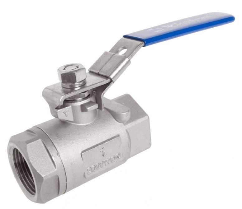 شیرهای توپی برای کنترل جریان سیالات استفاده میشوند.