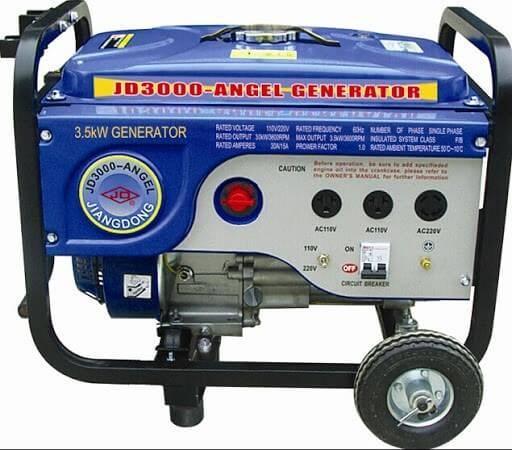 موتور برق جیانگ دانگ را در مکانی با تهویه مناسب استفاده کنید.