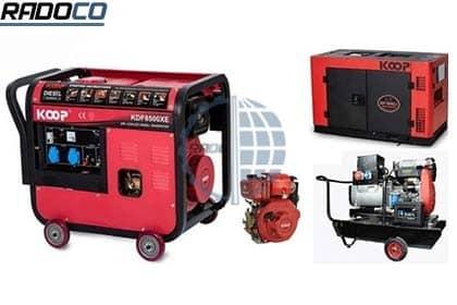 انواع موتور برقهای شرکت رادوکو