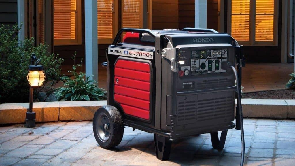 از موتور برق بی صدا می توان برای تامین برق در محیط های خارج از شهر استفاده کرد