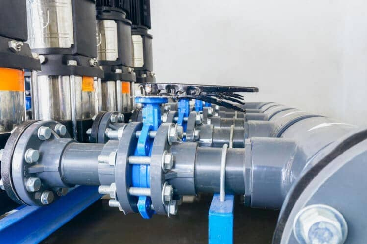 شیرهای پروانه ای ویفری در صنایع بسیاری زیادی کاربرد دارند.
