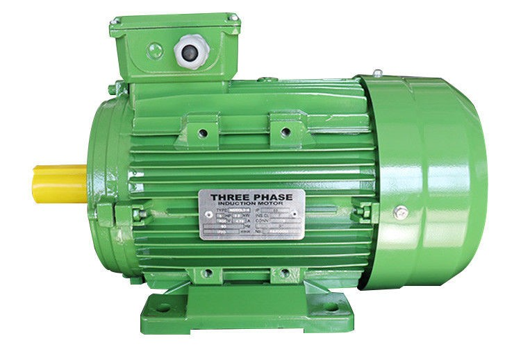 موتورهای سه فاز در رنگها و ابعاد متفاوتی تولید میشوند.