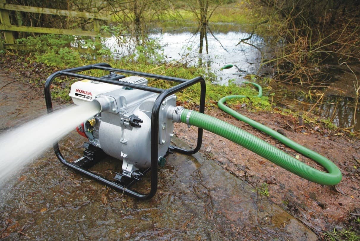 پمپ آب با نام تجاری هوندا جهت مصارف کشاورزی